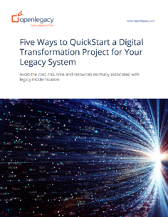 Five Ways to QuickStart a Digital Transformation WP cover