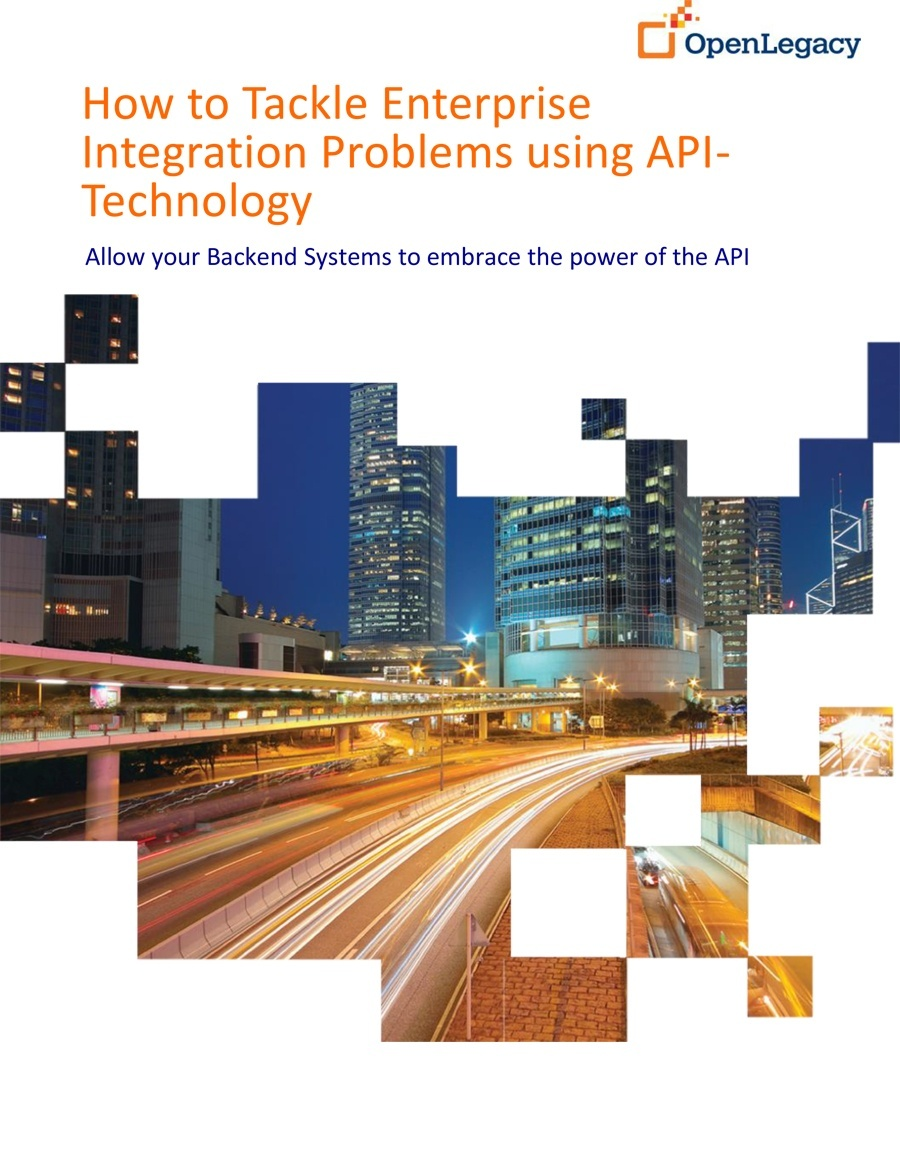 How OpenLegacy Tackles Enterprises Integration Problems using API-Technology